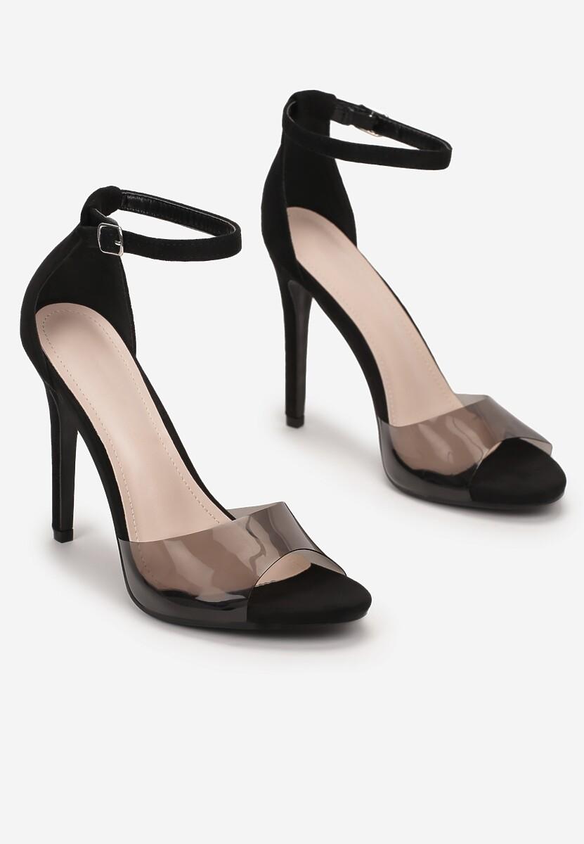 Czarne Sandały Aerilis