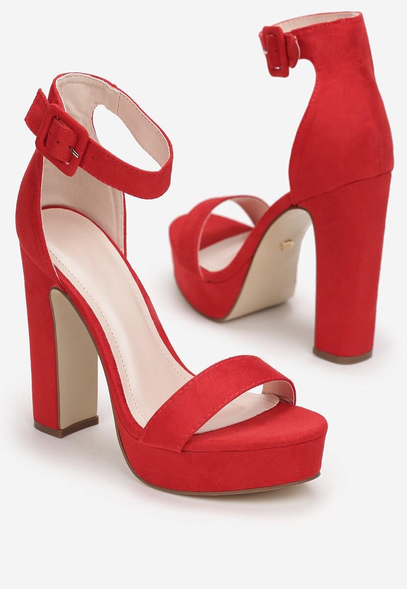 Czerwone Sandały Arserus