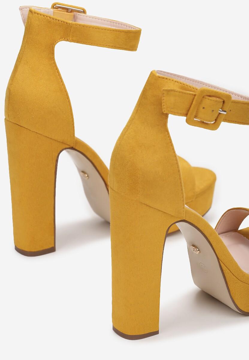 Żółte Sandały Arserus