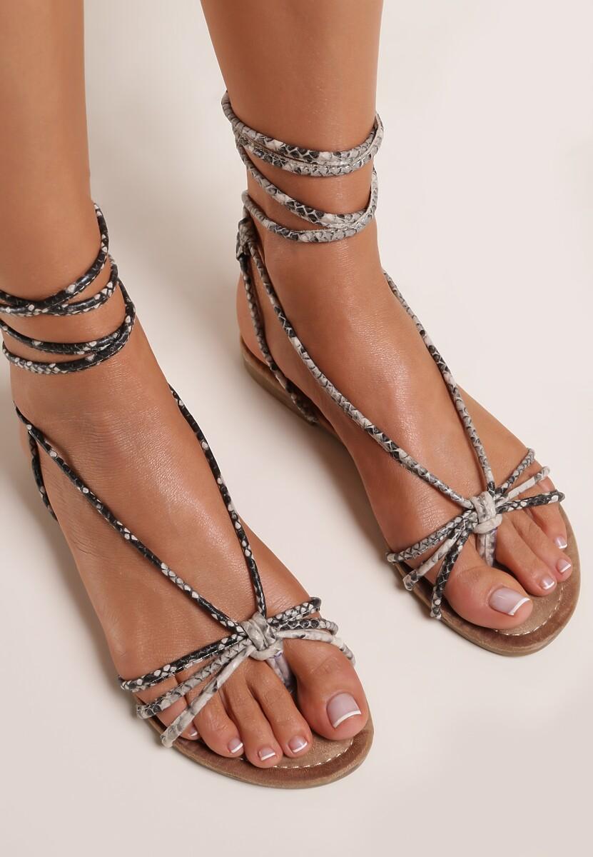 Wężowe Sandały Manise