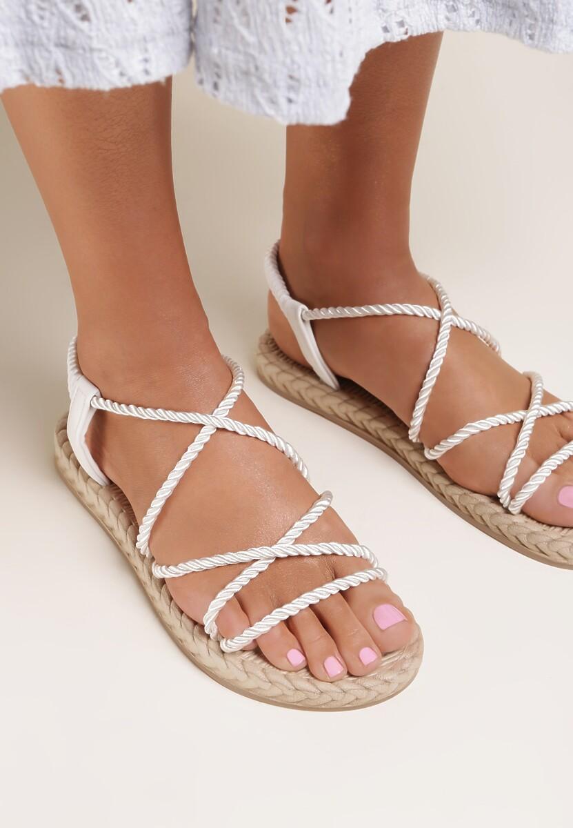Białe Sandały Hinara