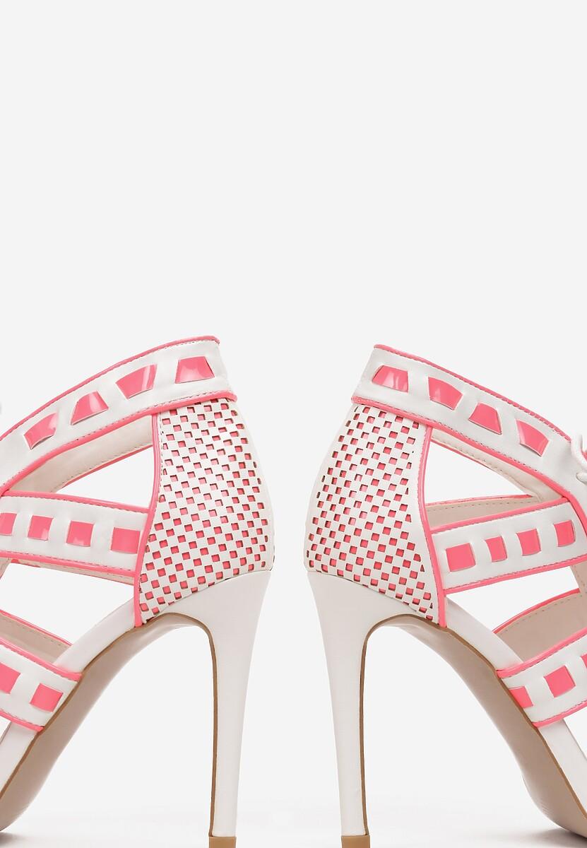 Białe Sandały Oraciane