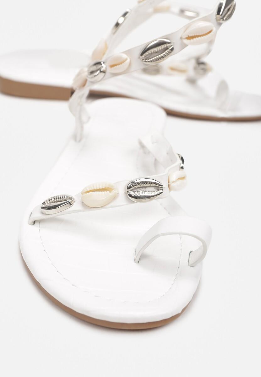 Białe Sandały Theleshi