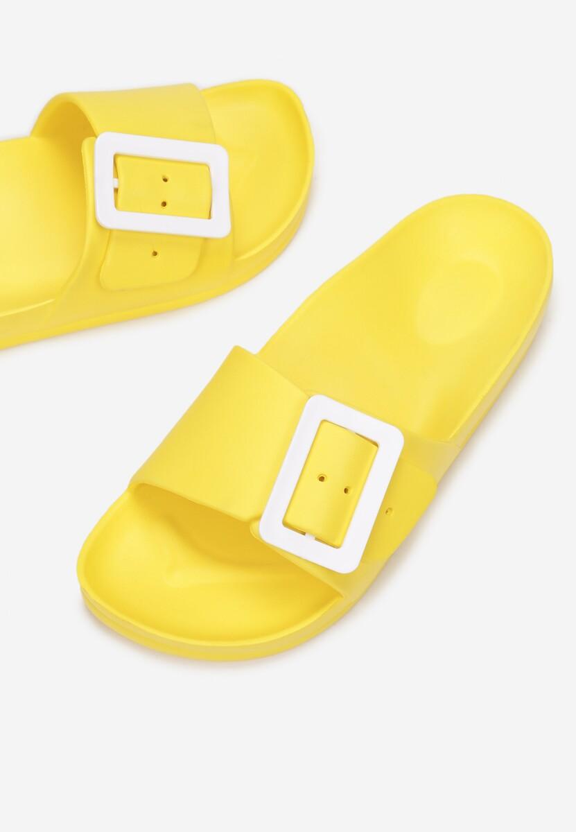 Żółte Klapki Kissiphei