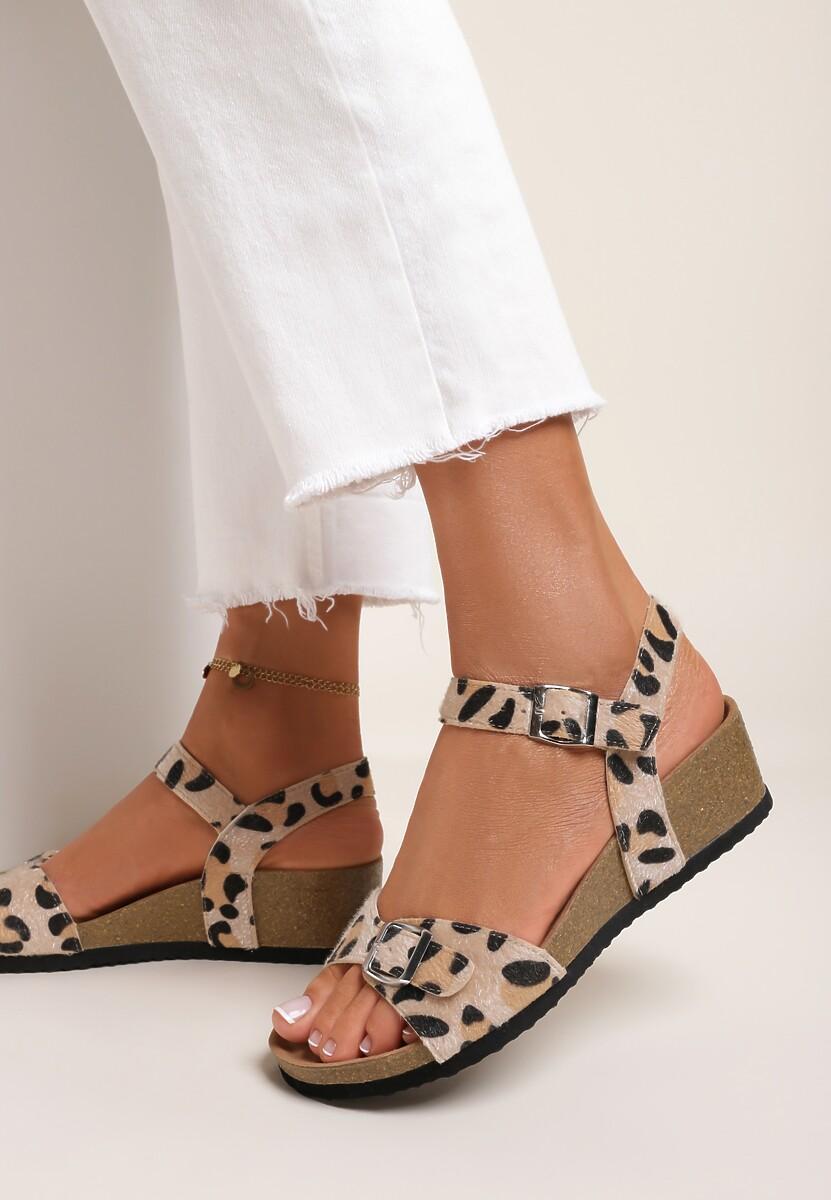 Panterkowe Sandały Nesarea