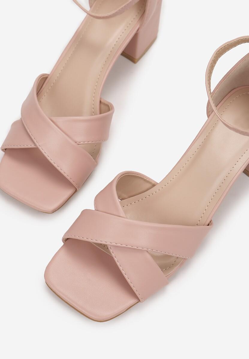 Różowe Sandały Peisiteia