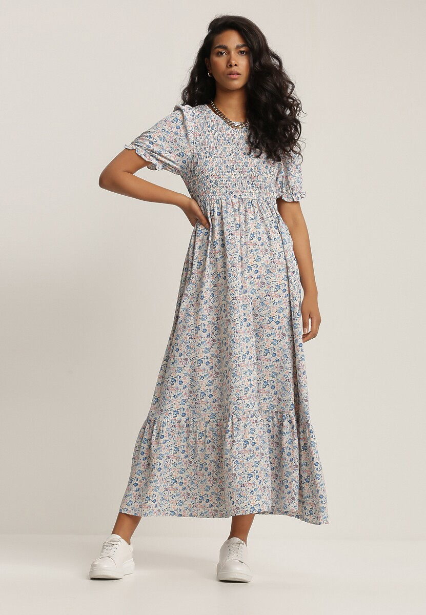 Niebieska Sukienka Molmeni