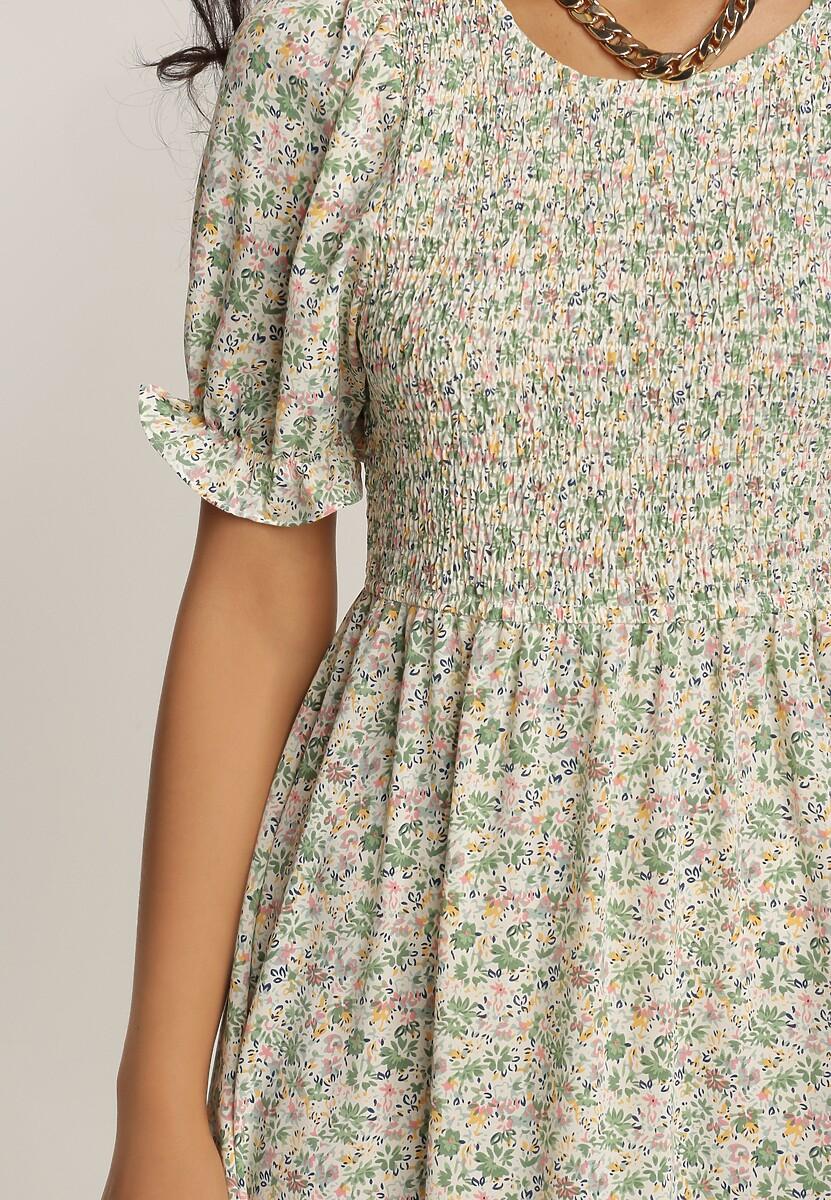 Zielona Sukienka Molmeni