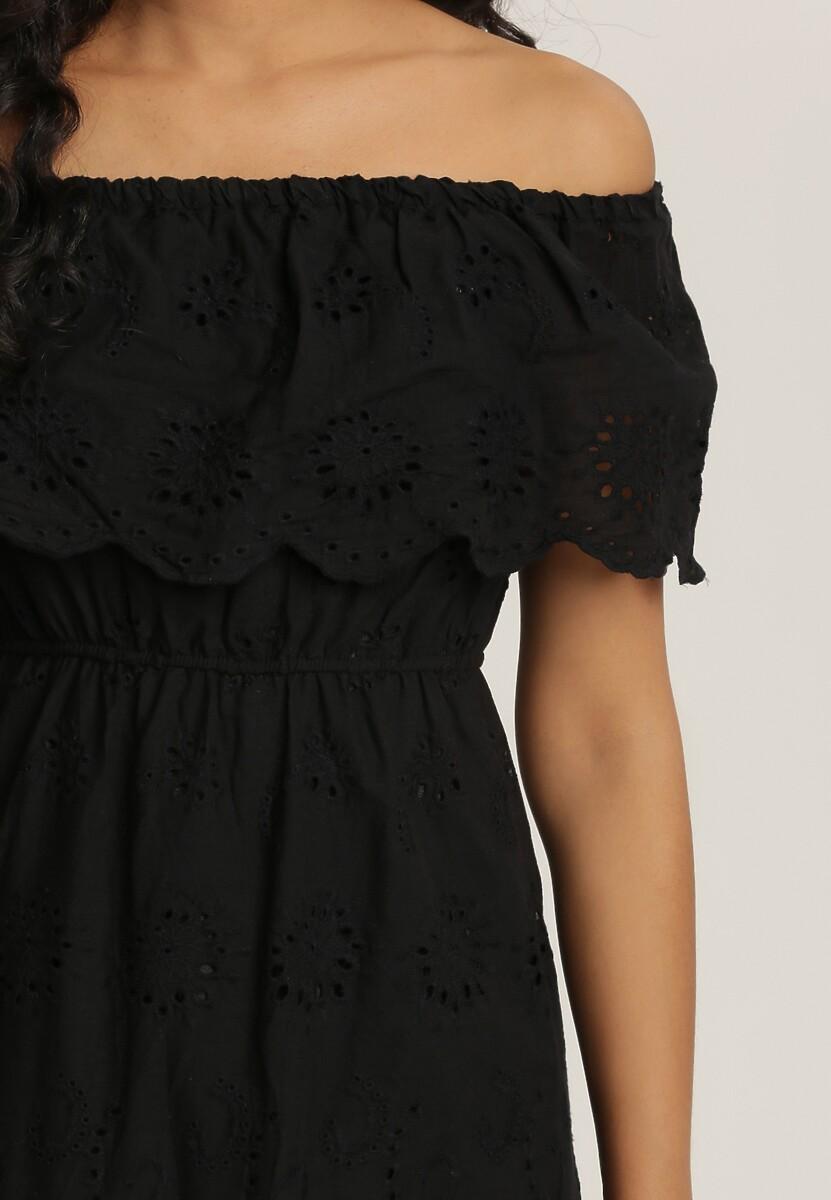 Czarna Sukienka Menilophi