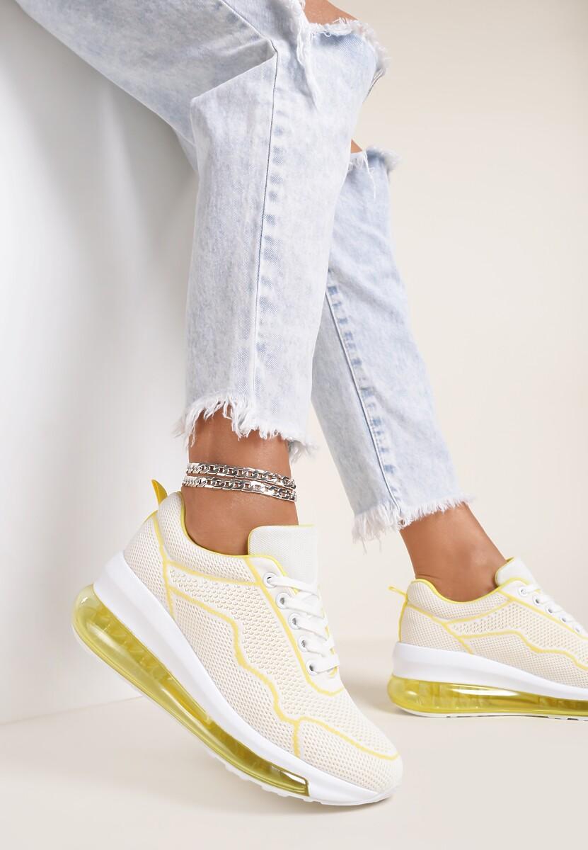 Żółte Sneakersy Clymenti