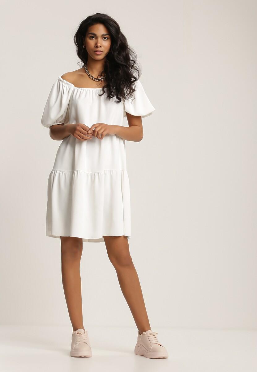 Biała Sukienka Idalise