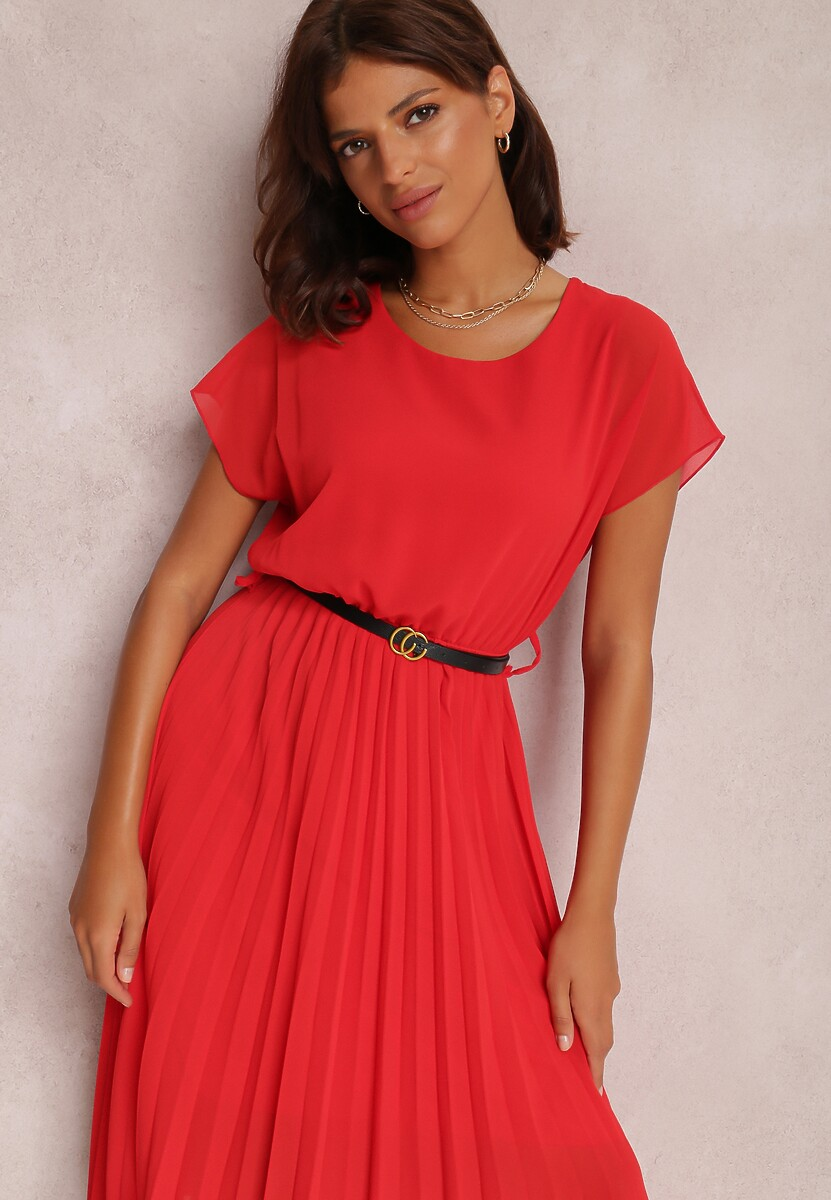 Czerwona Sukienka Myslodia