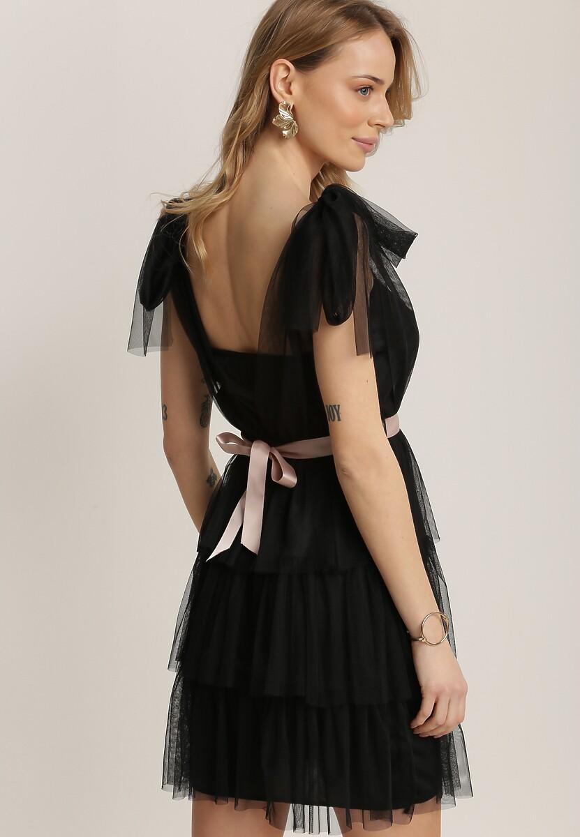 Czarna Sukienka Alaliphis