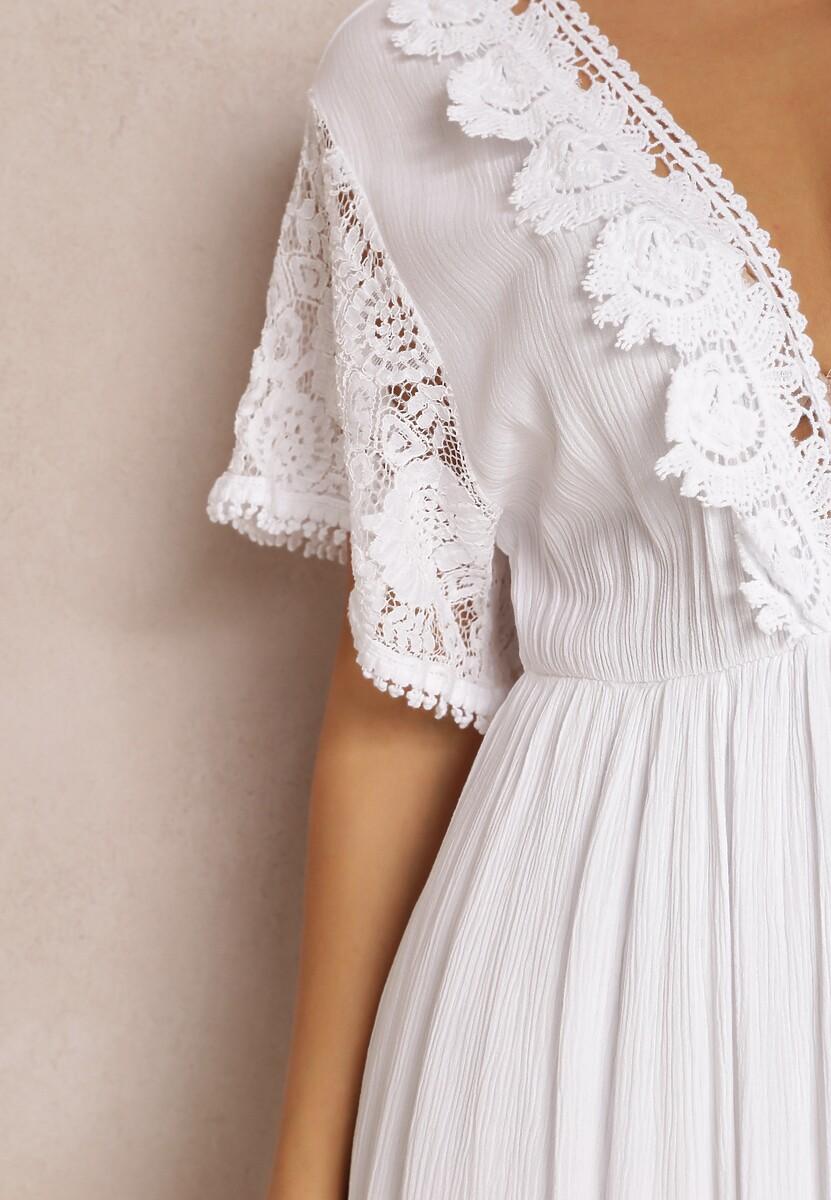 Biała Sukienka Palanome