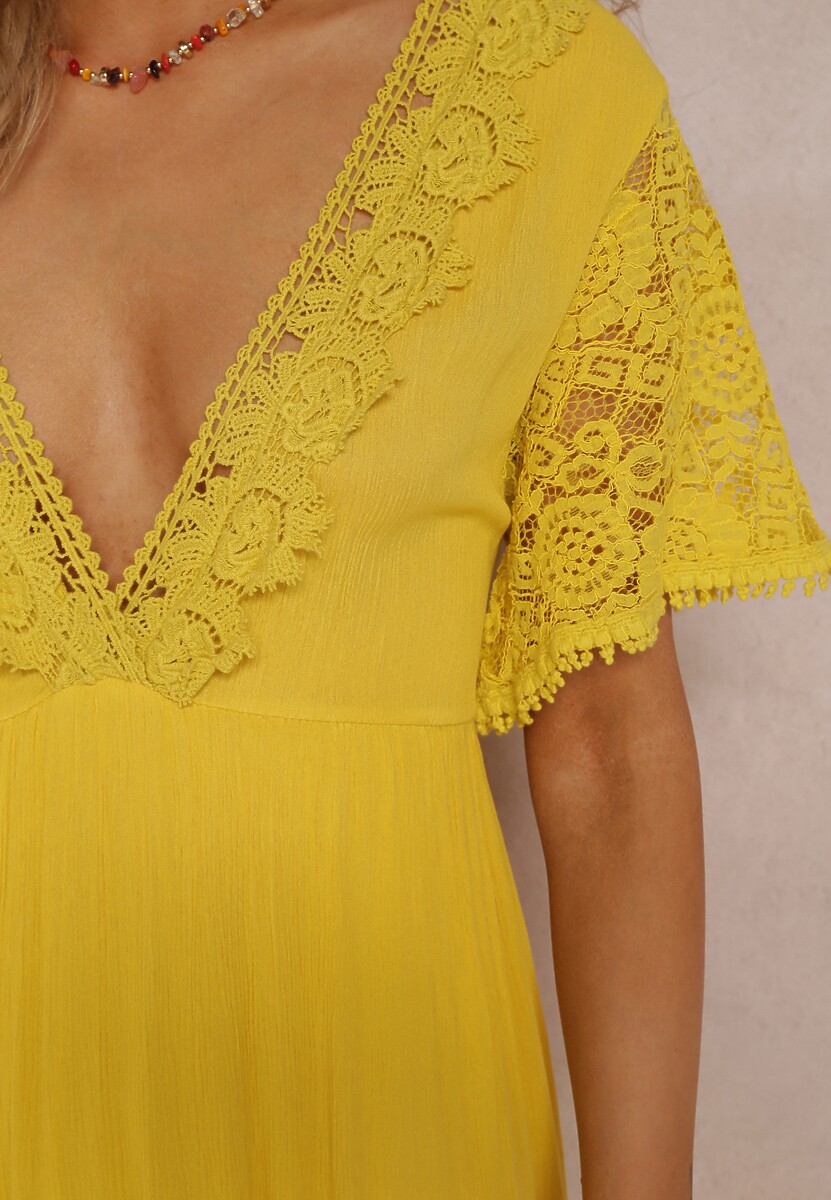 Żółta Sukienka Palanome