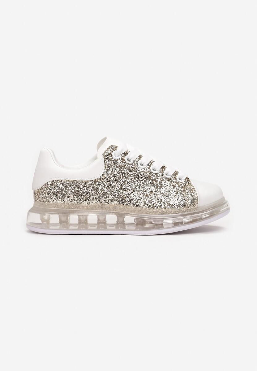 Złote Sneakersy Qyraya