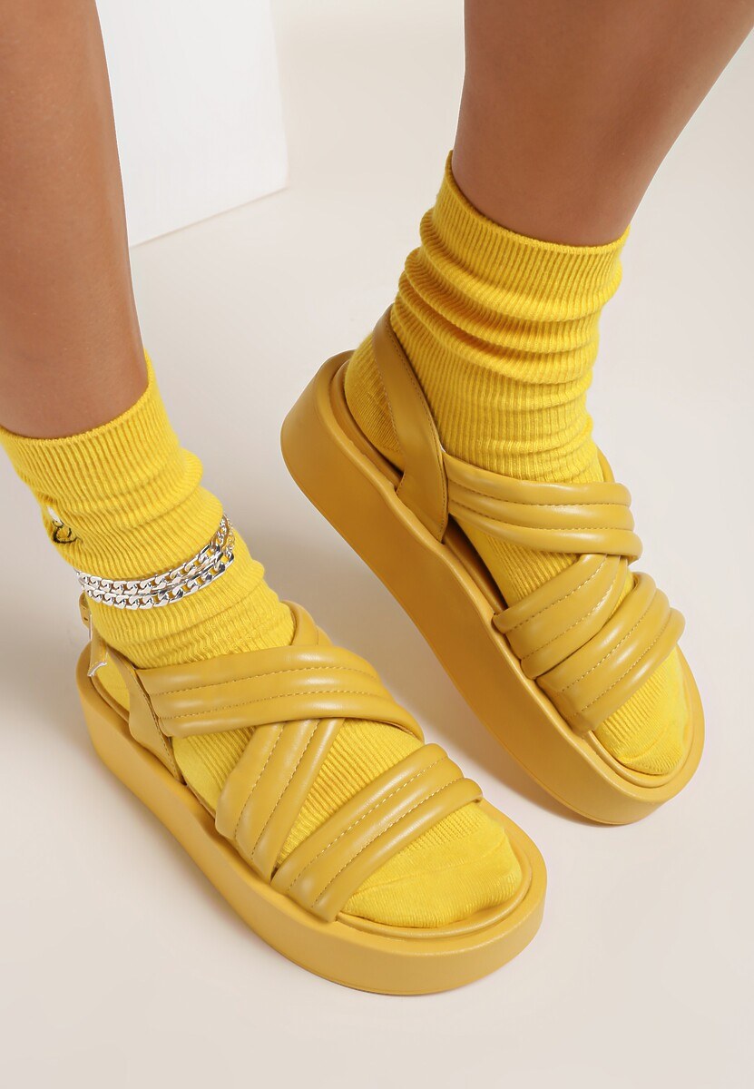 Żółte Sandały Thessawai