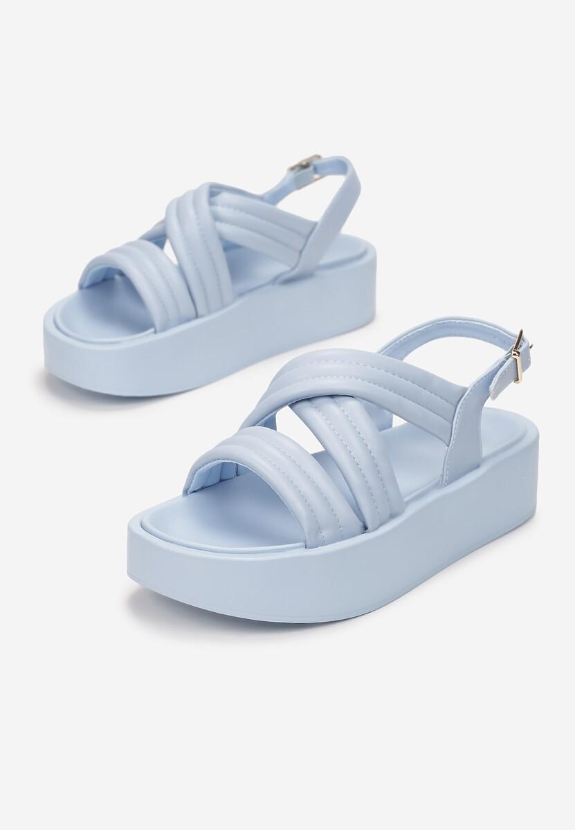 Niebieskie Sandały Thessawai