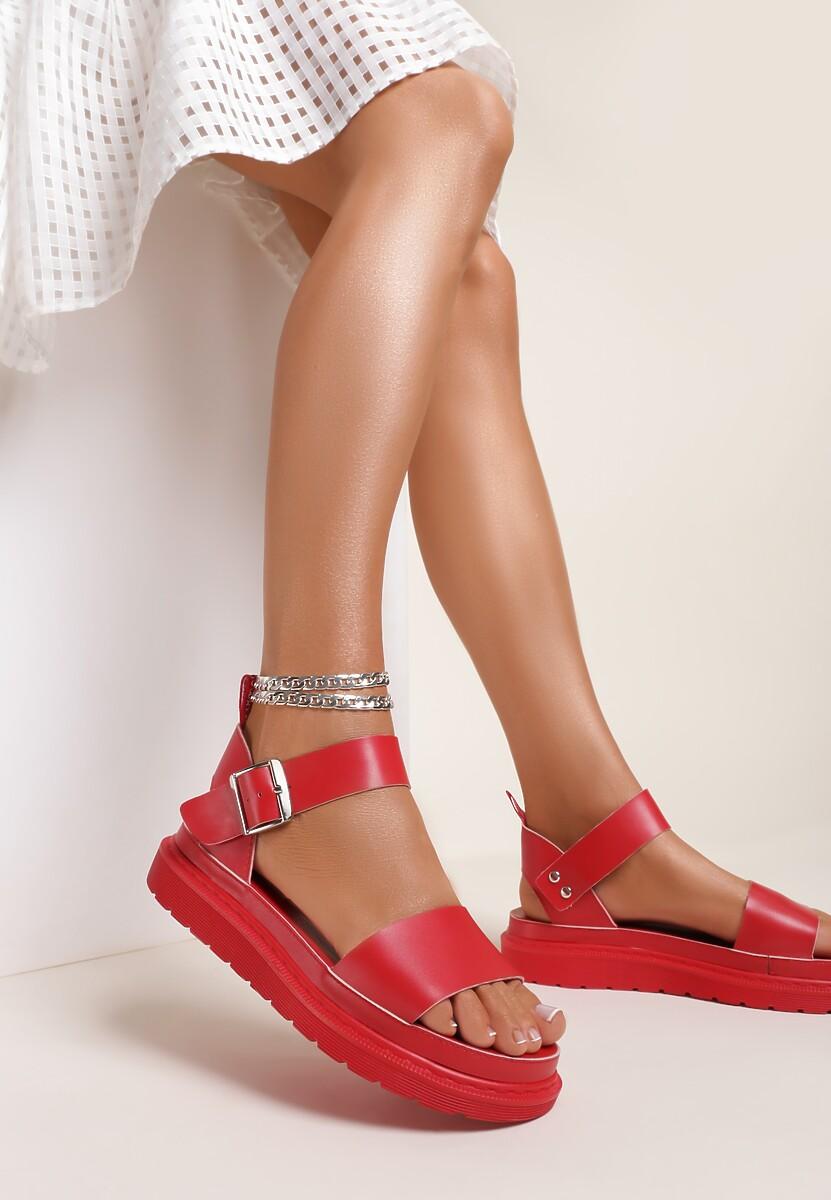 Czerwone Sandały Amalixera