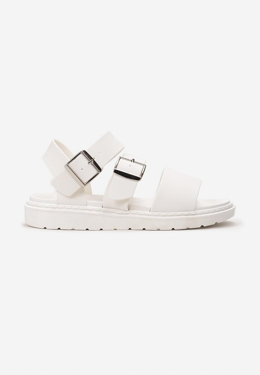 Białe Sandały Calocea