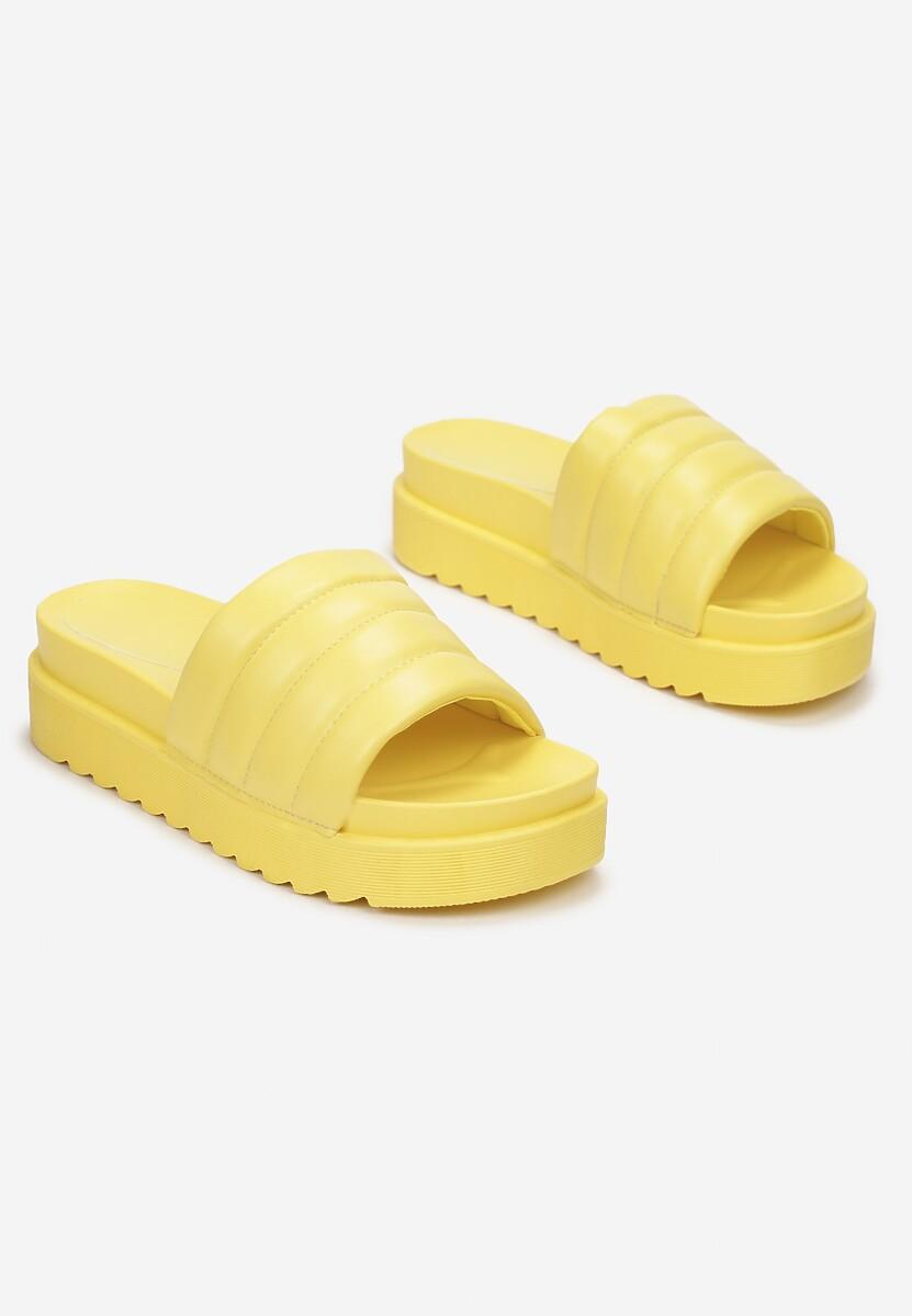 Żółte Klapki Noeris