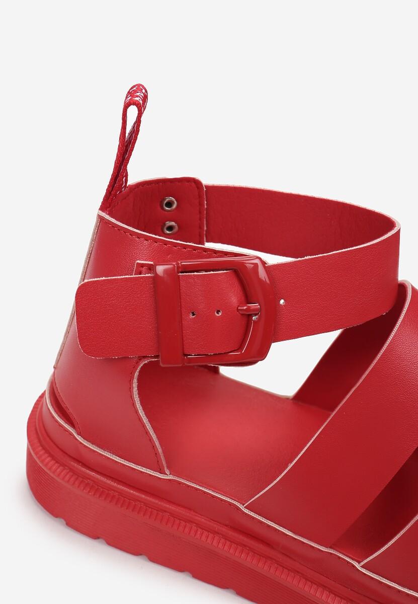 Czerwone Sandały Amalimene