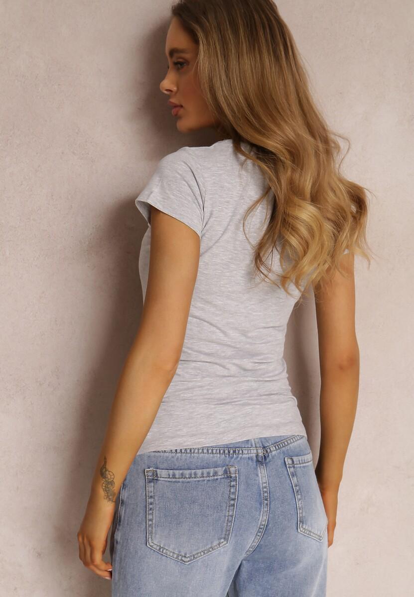 Jasnoszary T-shirt Peisa