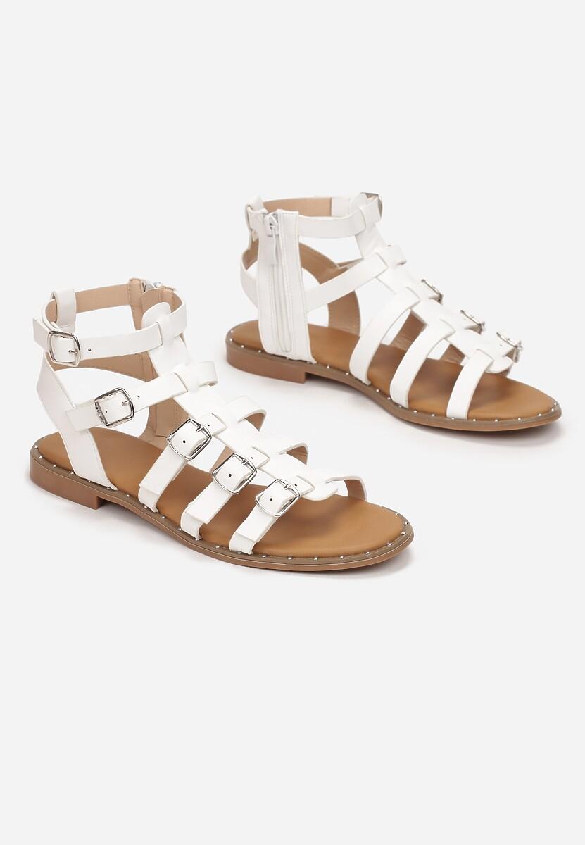 Białe Sandały Lysessei