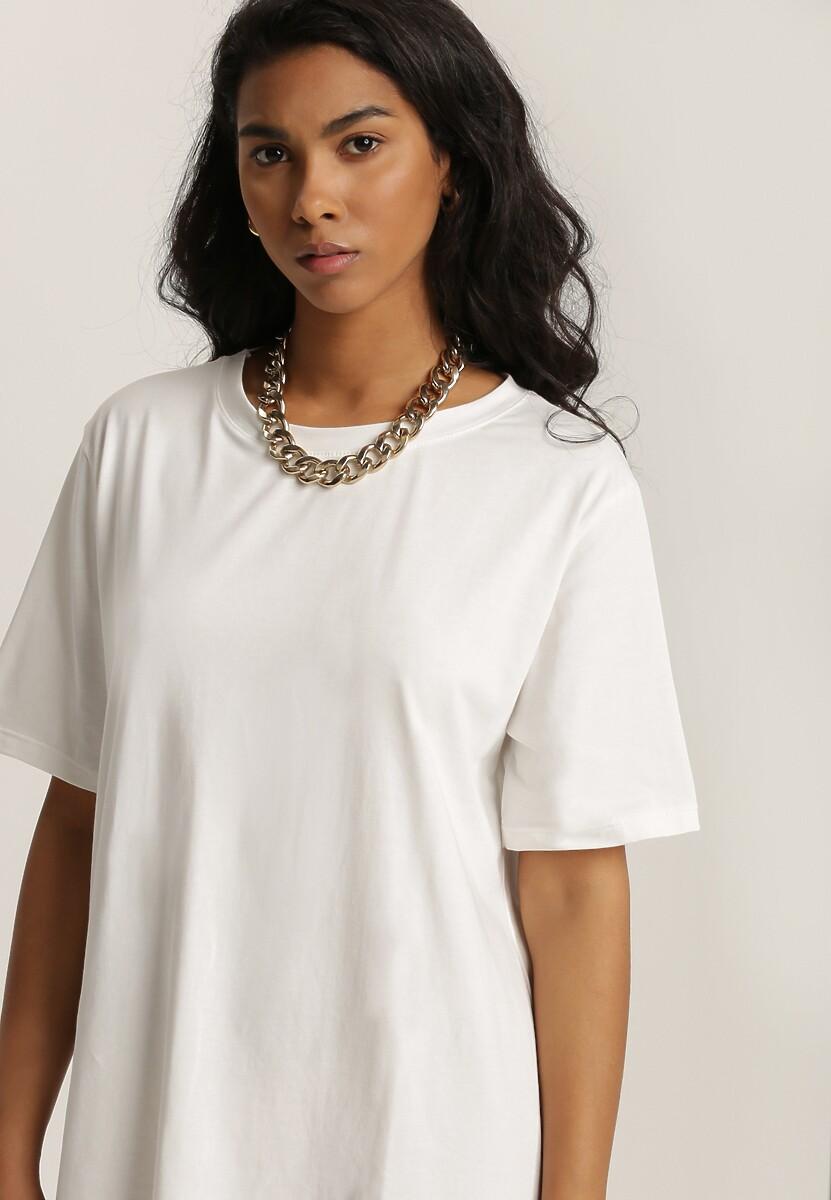 Biały T-shirt Peilea