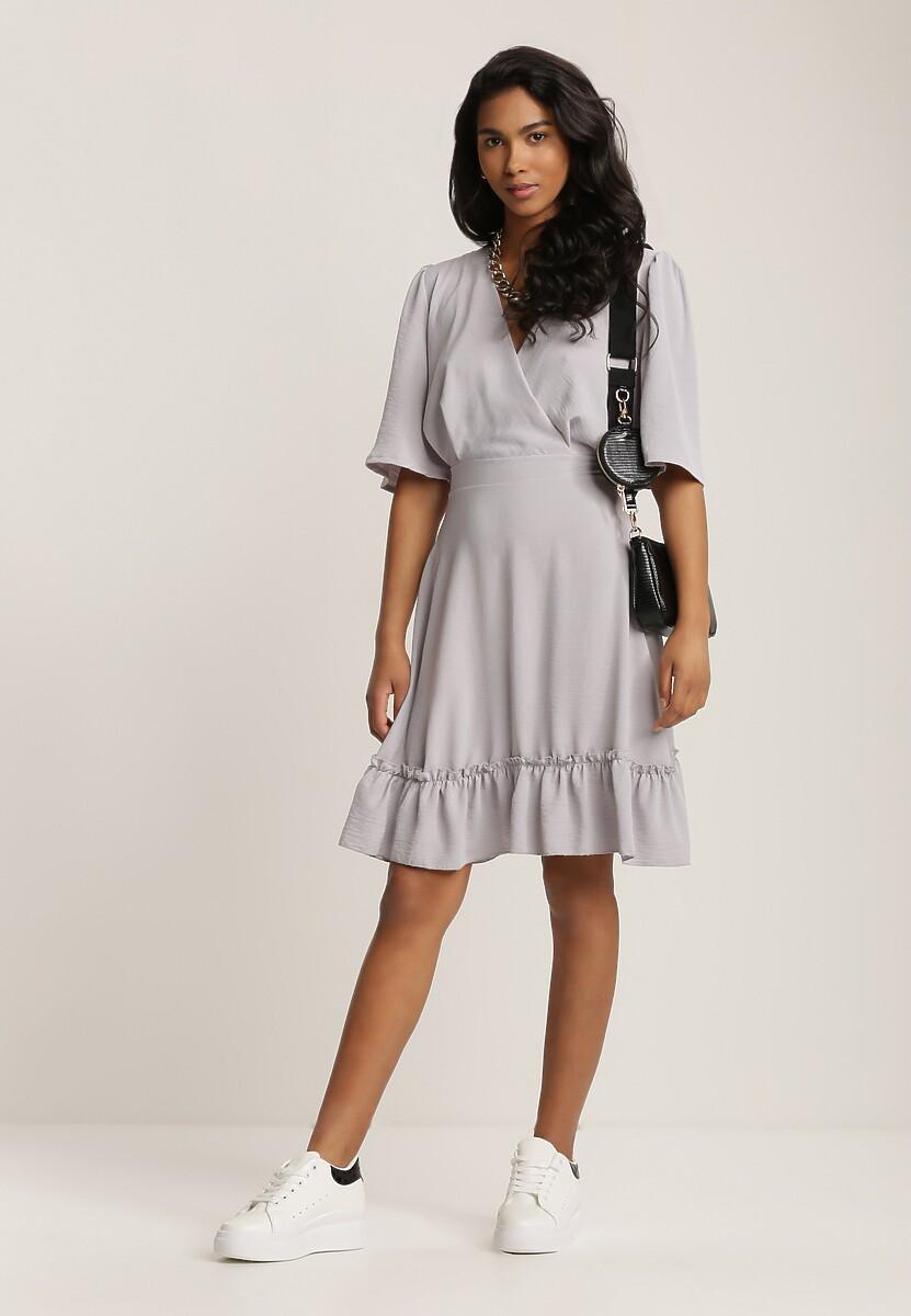 Szara Sukienka Ephecia