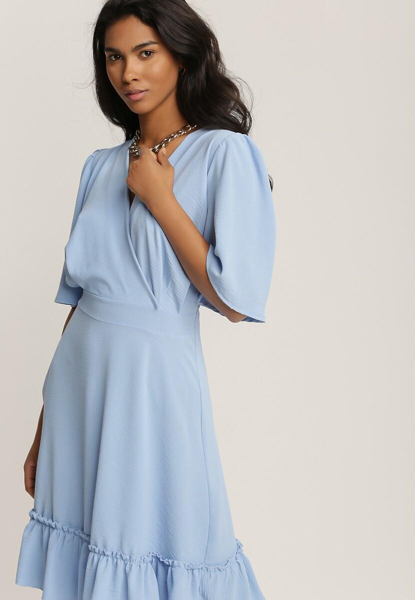 Niebieska Sukienka Ephecia