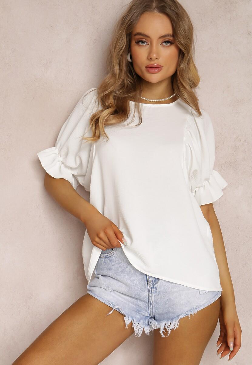Biała Bluzka Sheda