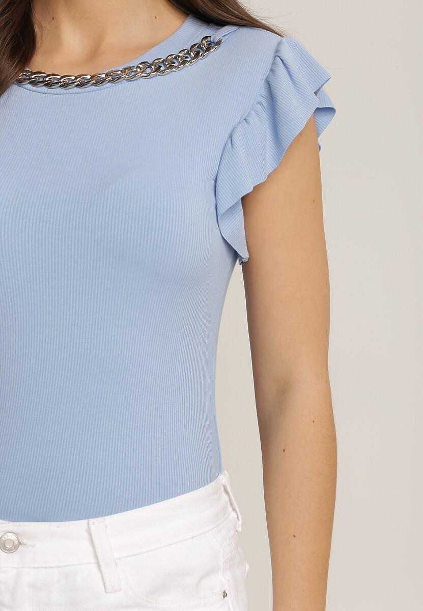 Niebieska Bluzka Rhenetai