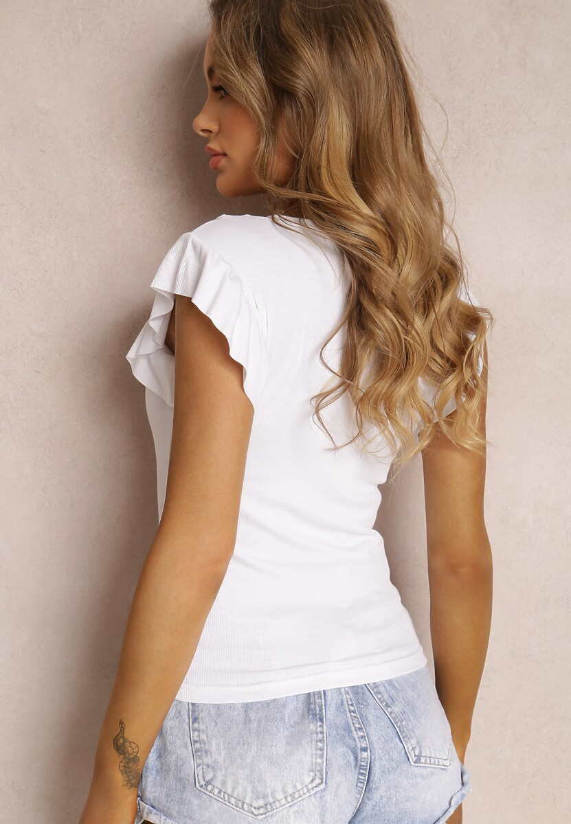 Biała Bluzka Rhenetai