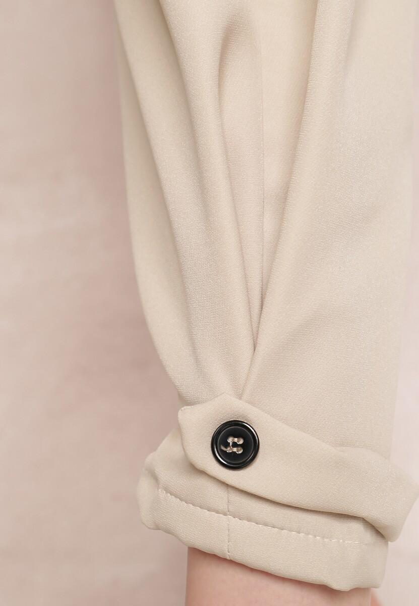Jasnobeżowe Spodnie Iphissyss