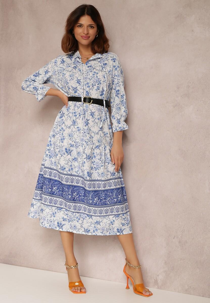 Jasnoniebieska Sukienka Petopheme