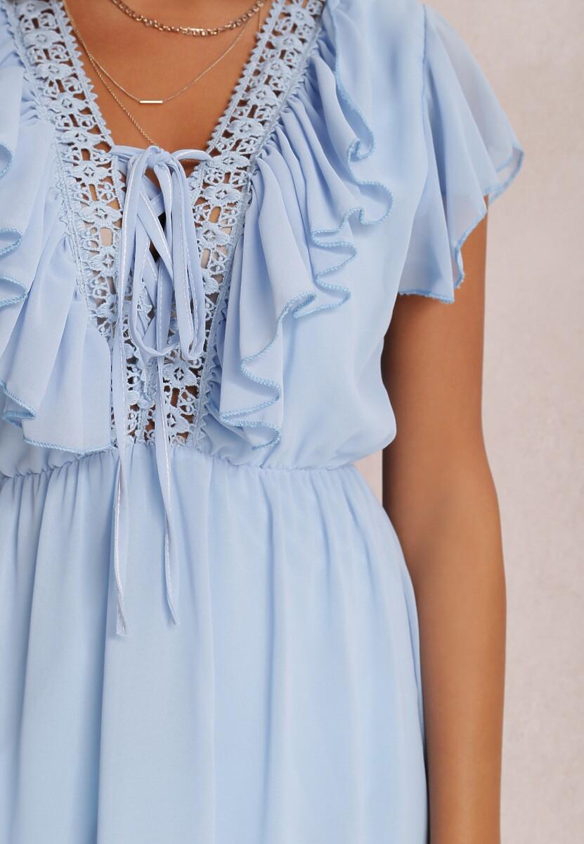 Niebieska Sukienka Coraelura