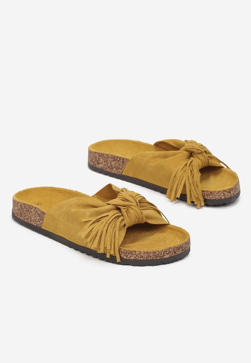 Żółte Klapki Sabophia