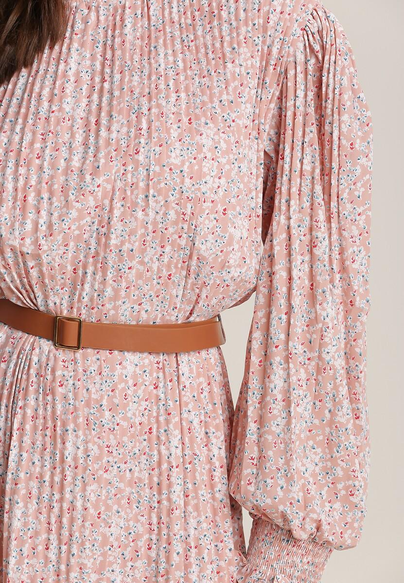 Różowa Sukienka Crethesis