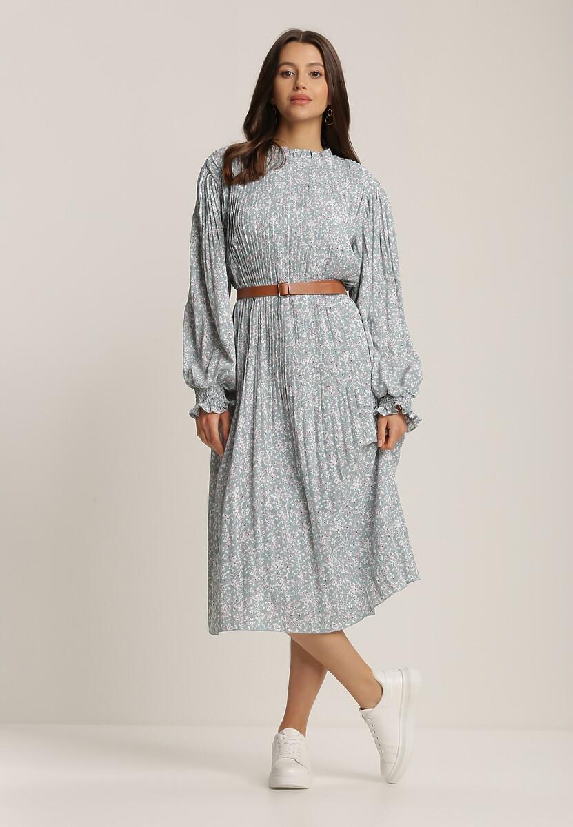 Jasnoniebieska Sukienka Crethesis