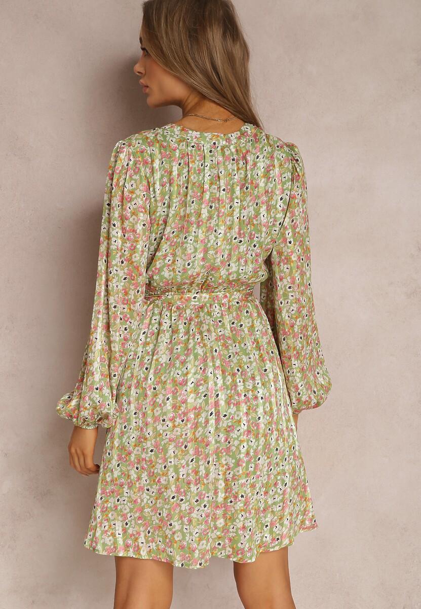 Zielona Sukienka Asheshi