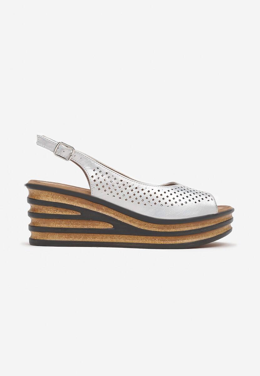 Srebrne Sandały Ophiymes