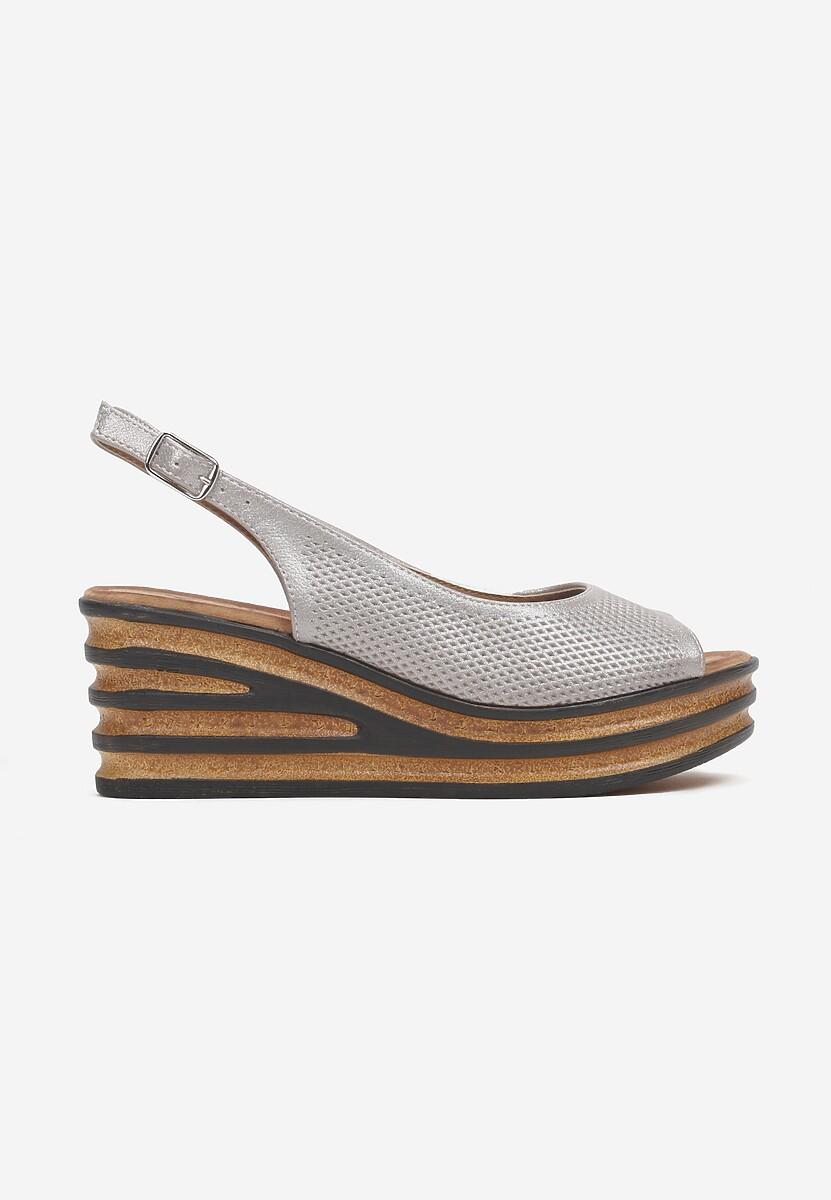 Beżowe Sandały Mystassea