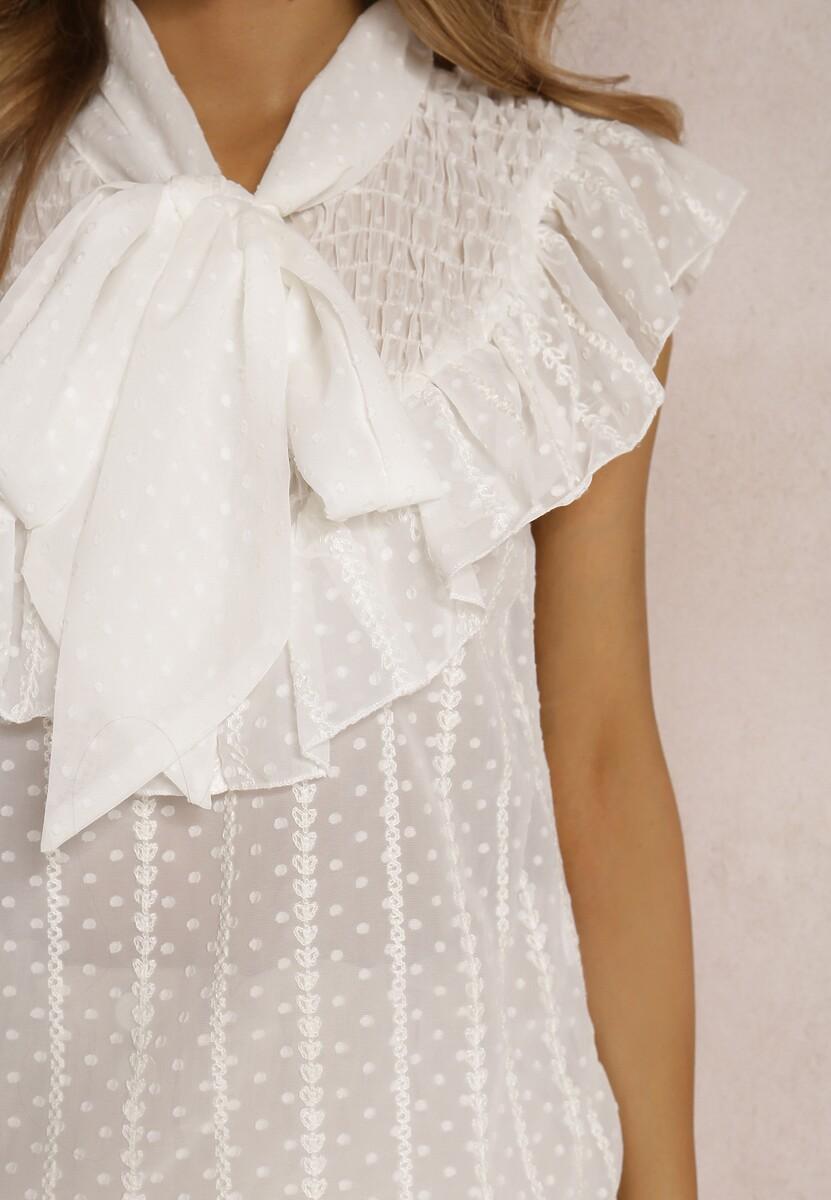 Biała Bluzka Phaethiaphe
