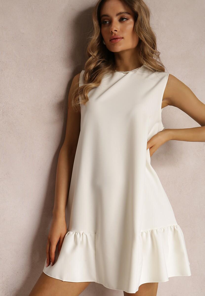 Kremowa Sukienka Phalephia