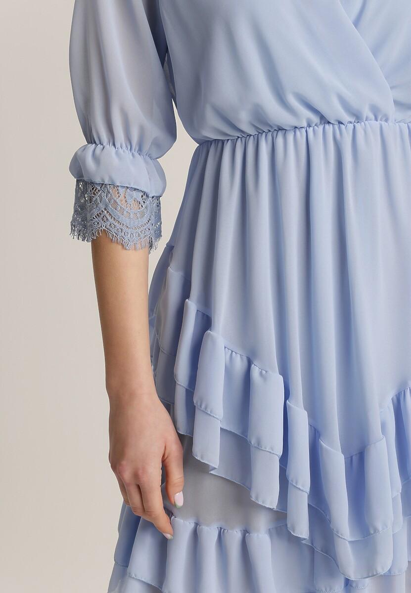 Jasnoniebieska Sukienka Nysethia