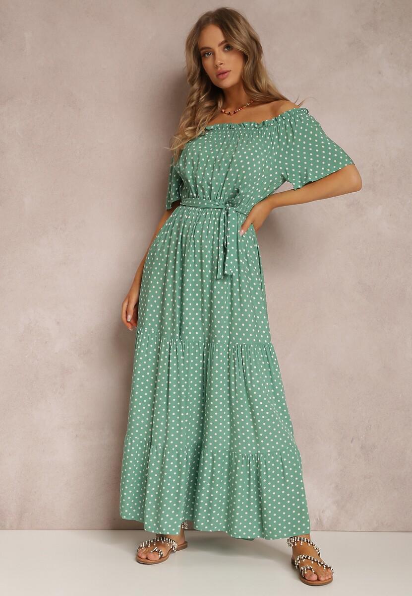 Zielona Sukienka Kaliphanthe