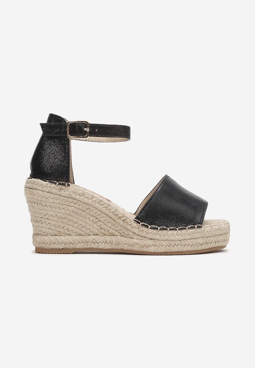 Czarne Sandały Aethissis