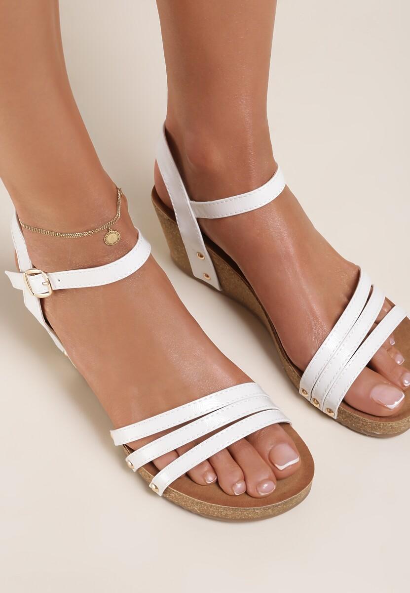 Białe Sandały Calyphophis