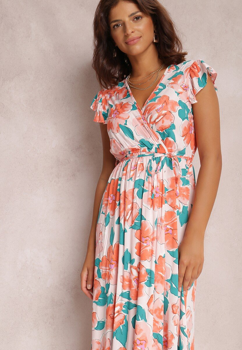 Różowa Sukienka Mazhand